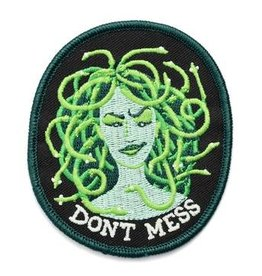 Frog & Toad Press Don't Mess Medusa Patch
