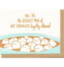 Frog & Toad Press Mug of Hot Chocolate Greeting Card