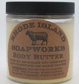 RI Soapworks Body Butter - Ocean Breeze