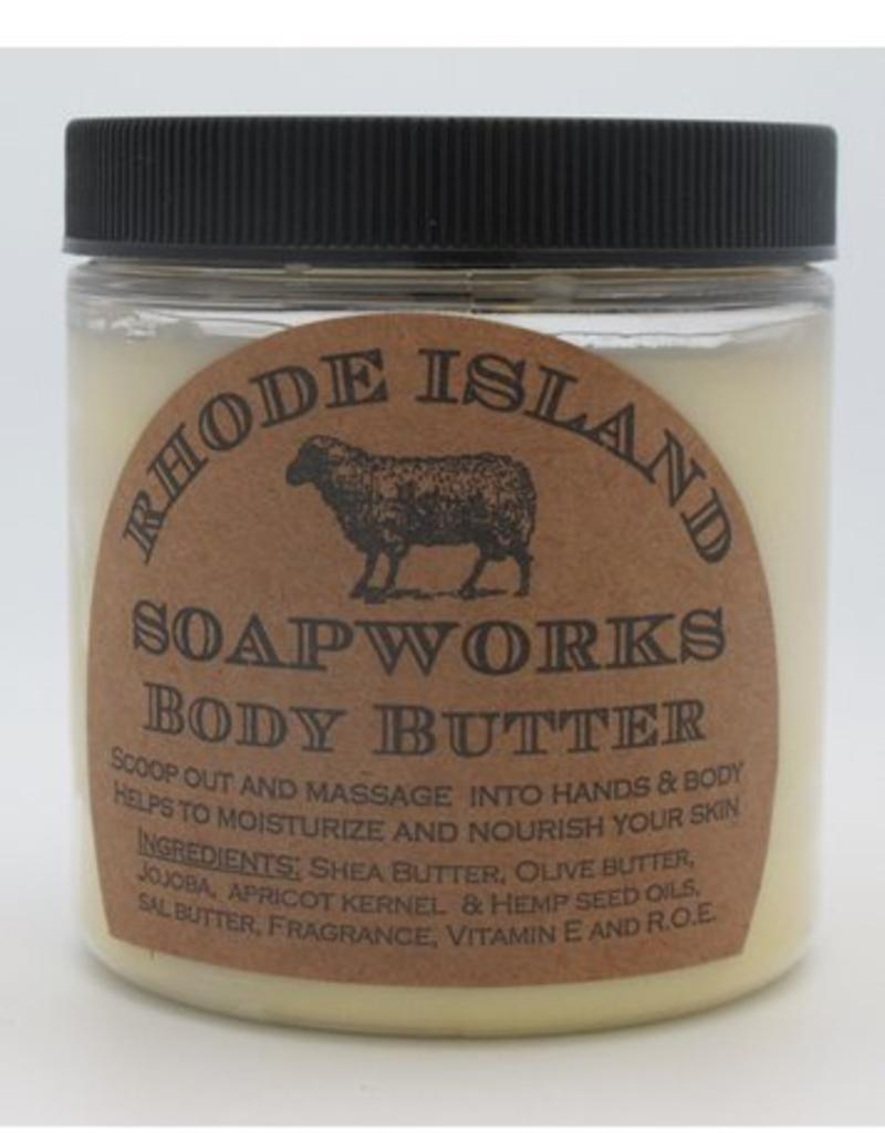 RI Soapworks Body Butter - Ocean Breeze