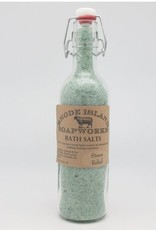 RI Soapworks Bottled Bath Salts - Stress Relief