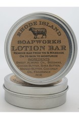 RI Soapworks Lotion Tin - Oatmeal
