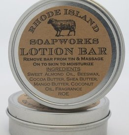 RI Soapworks Lotion Tin - Oatmeal