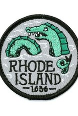 Frog & Toad Press Rhode Island Sea Serpent Patch