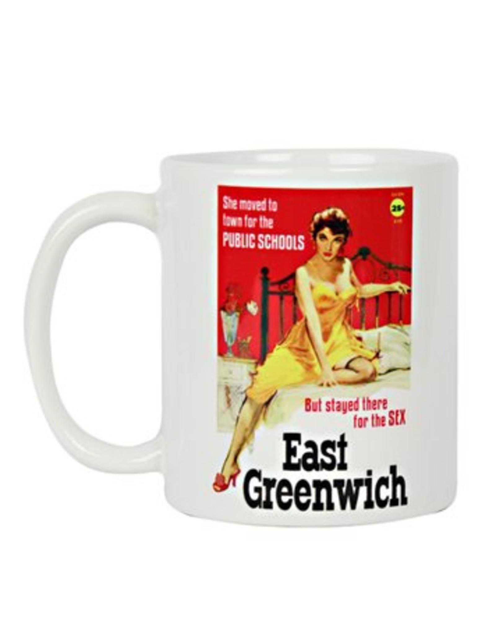 East Greenwich Pulp Fiction Mug