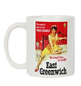 East Greenwich Pulp Fiction Mug