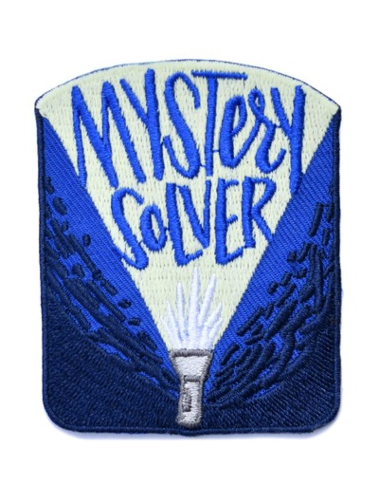 Mystery Solver Patch (Glow in the dark!)