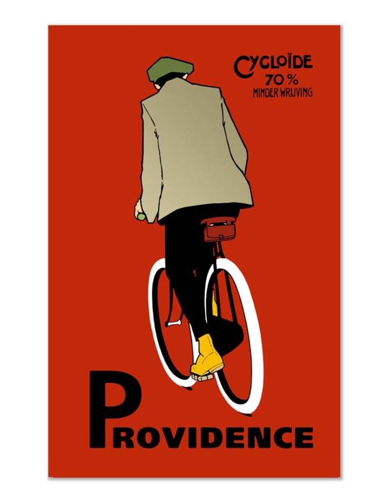 Frog & Toad Design The Providence Cyclist Print