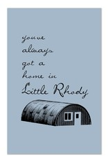 Frog & Toad Design Little Rhody Quonset Hut Print