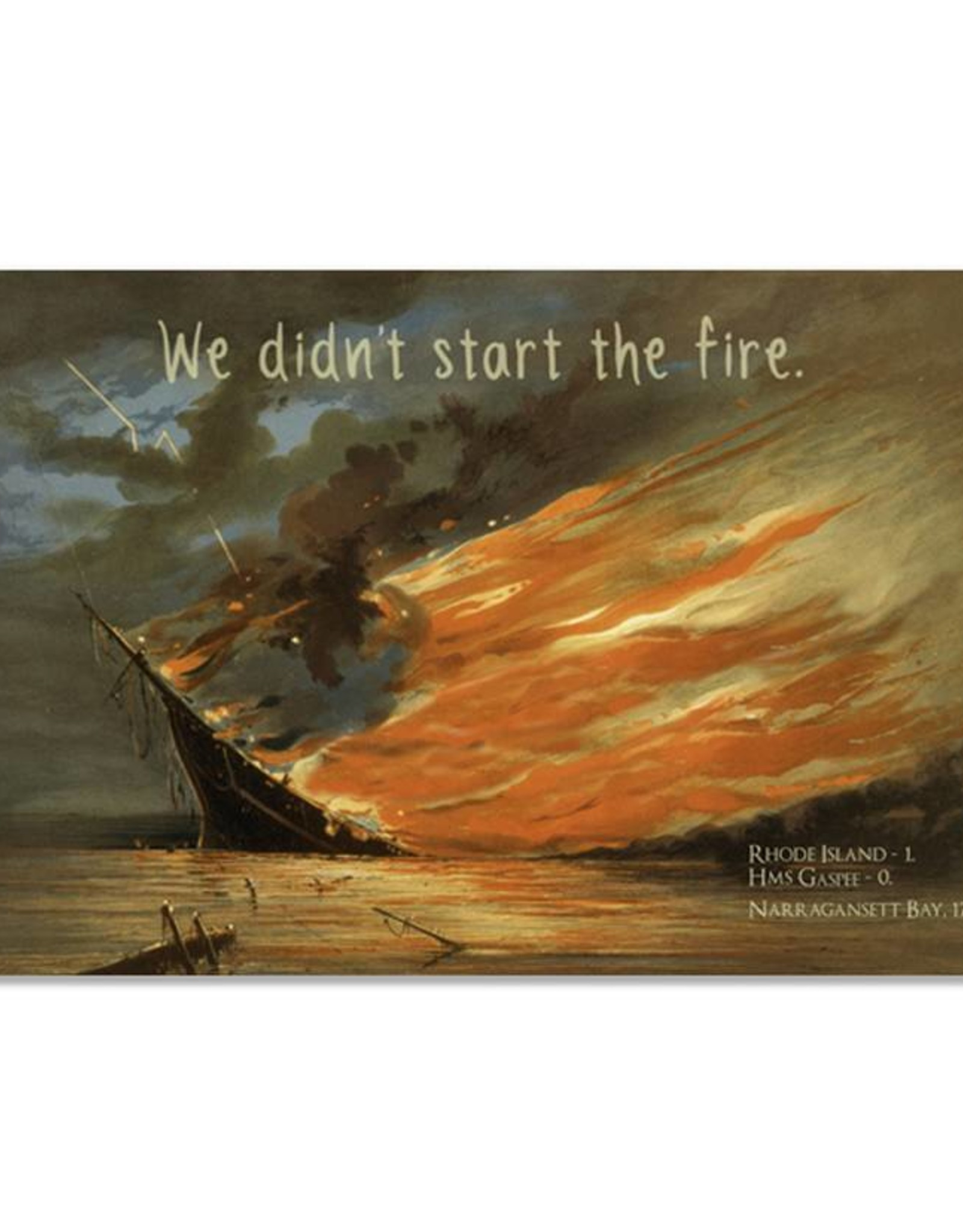 Burning of the Gaspee Print
