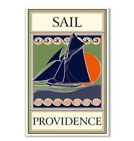 Frog & Toad Design Sail Providence Print