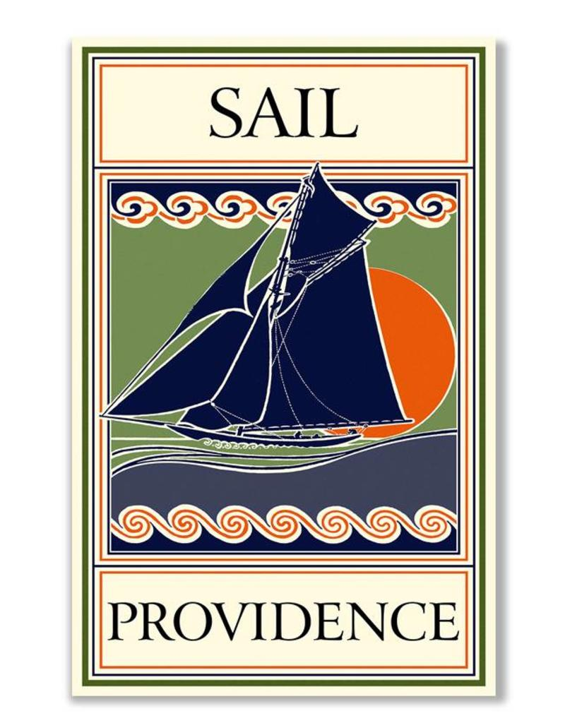 Frog & Toad Design Sail Providence Print