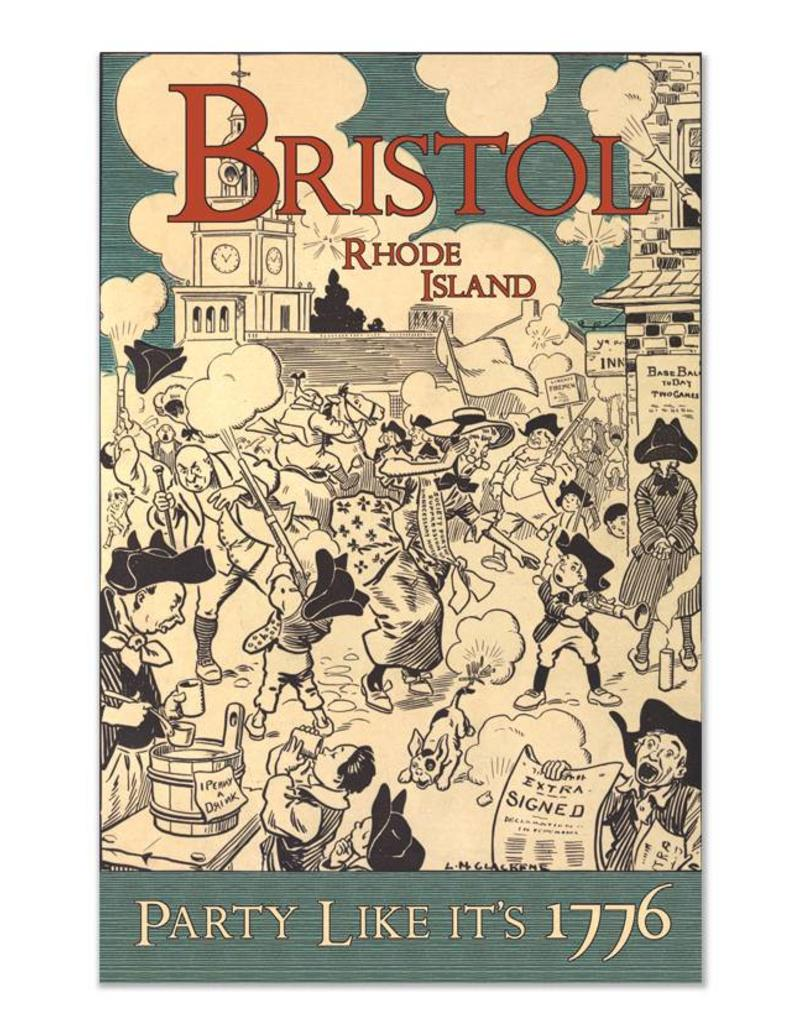 Frog & Toad Design Bristol Party Print
