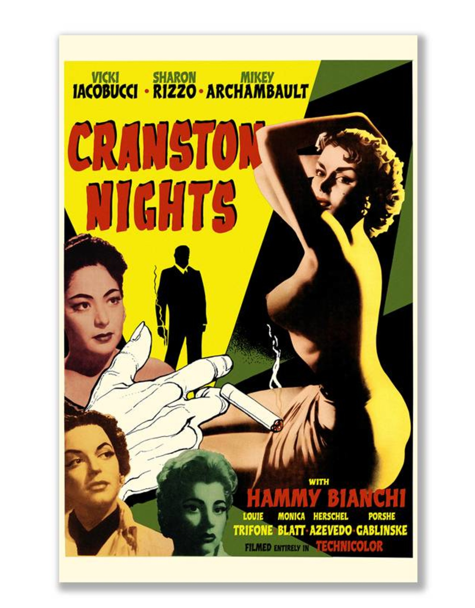 Cranston Nights Movie Print