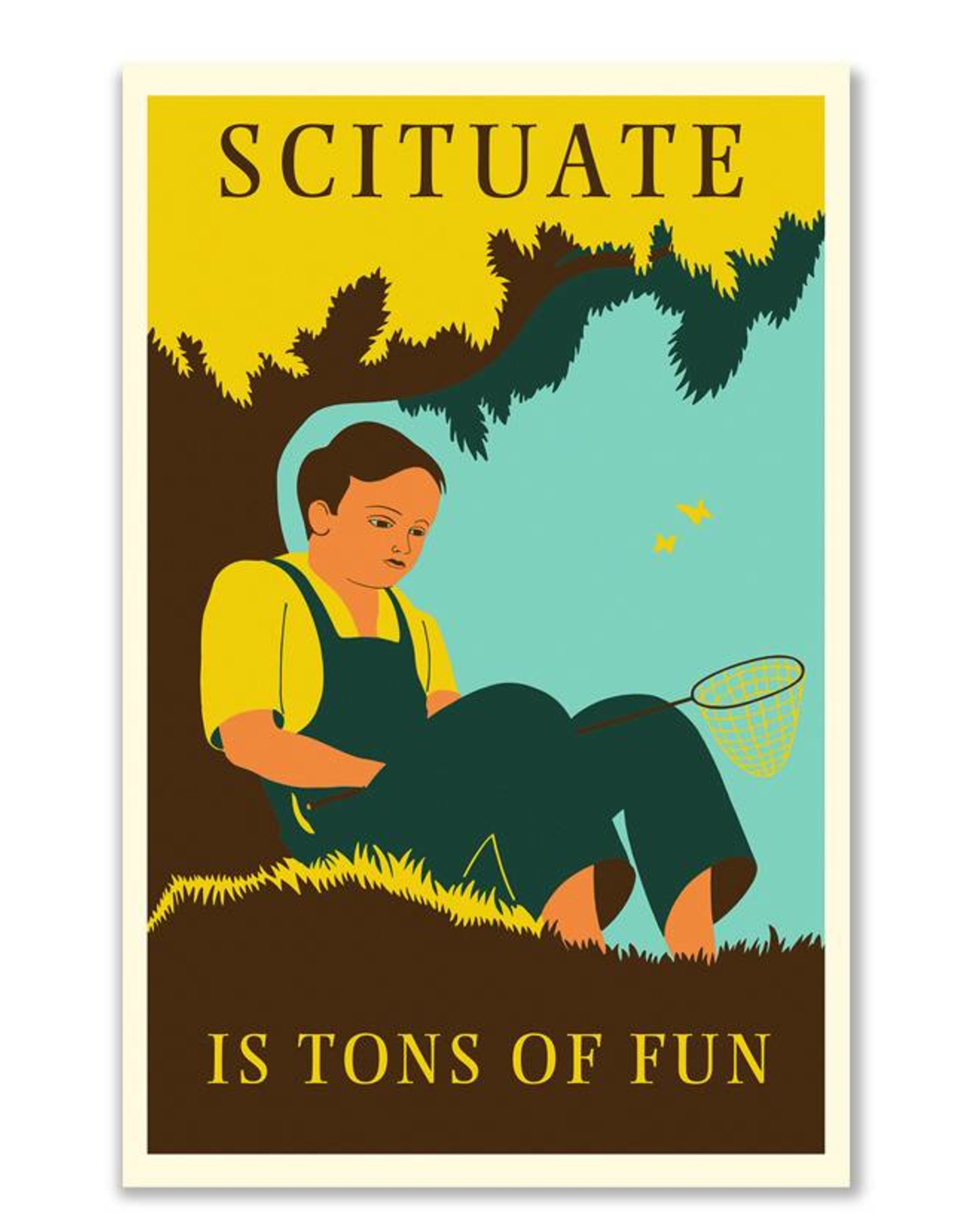 Scituate Is Tons Of Fun Print