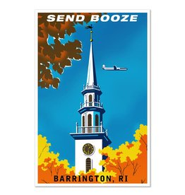 Send Booze Barrington Print