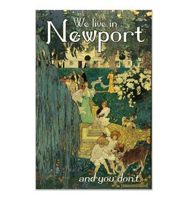 Frog & Toad Design We Live In Newport Print