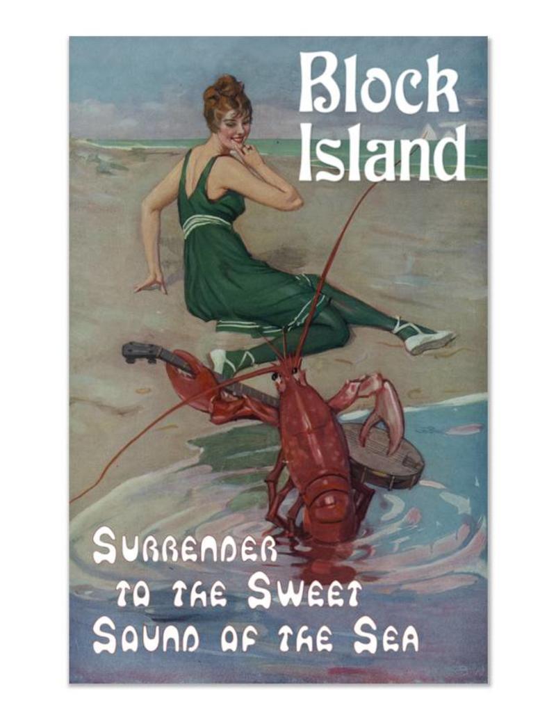 Frog & Toad Design Block Island Print