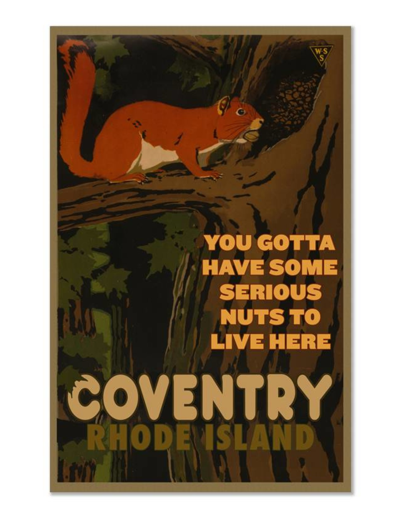 Coventry Squirrel Print