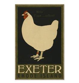 Exeter Hen Print
