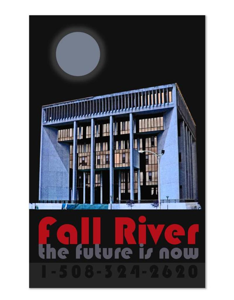 "Frog & Toad Design Fall River ""The Future Is Now"" Print"