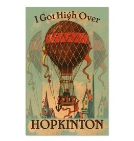 Frog & Toad Design High Over Hopkinton Print