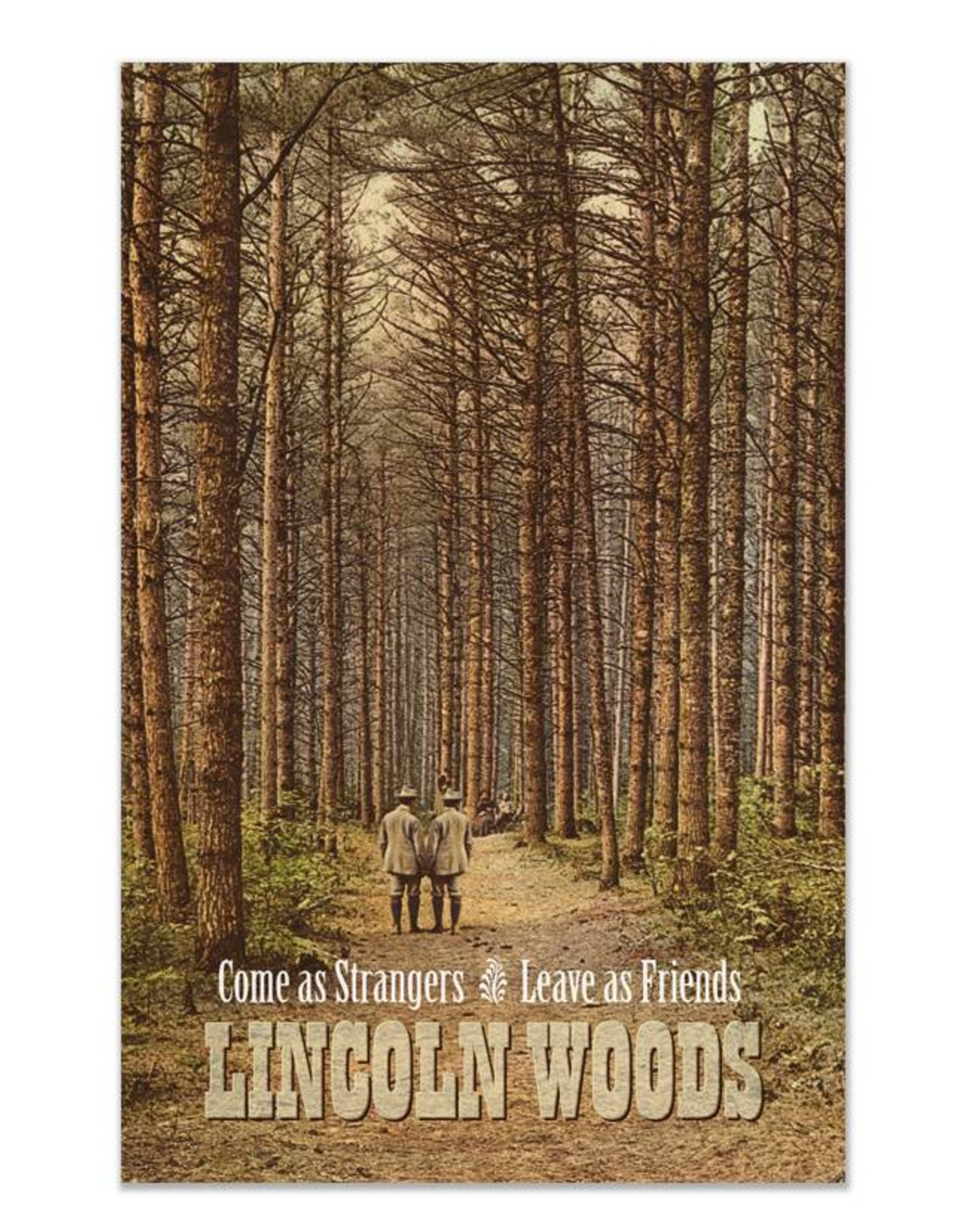 Lincoln Woods Print
