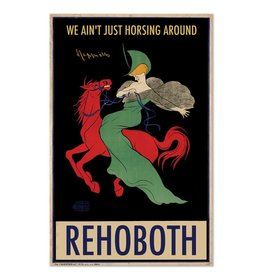 "Frog & Toad Design Rehoboth ""We Ain't Just Horsing Around"" Print"