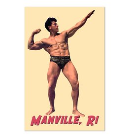 Frog & Toad Design The Manville Bodybuilder Print