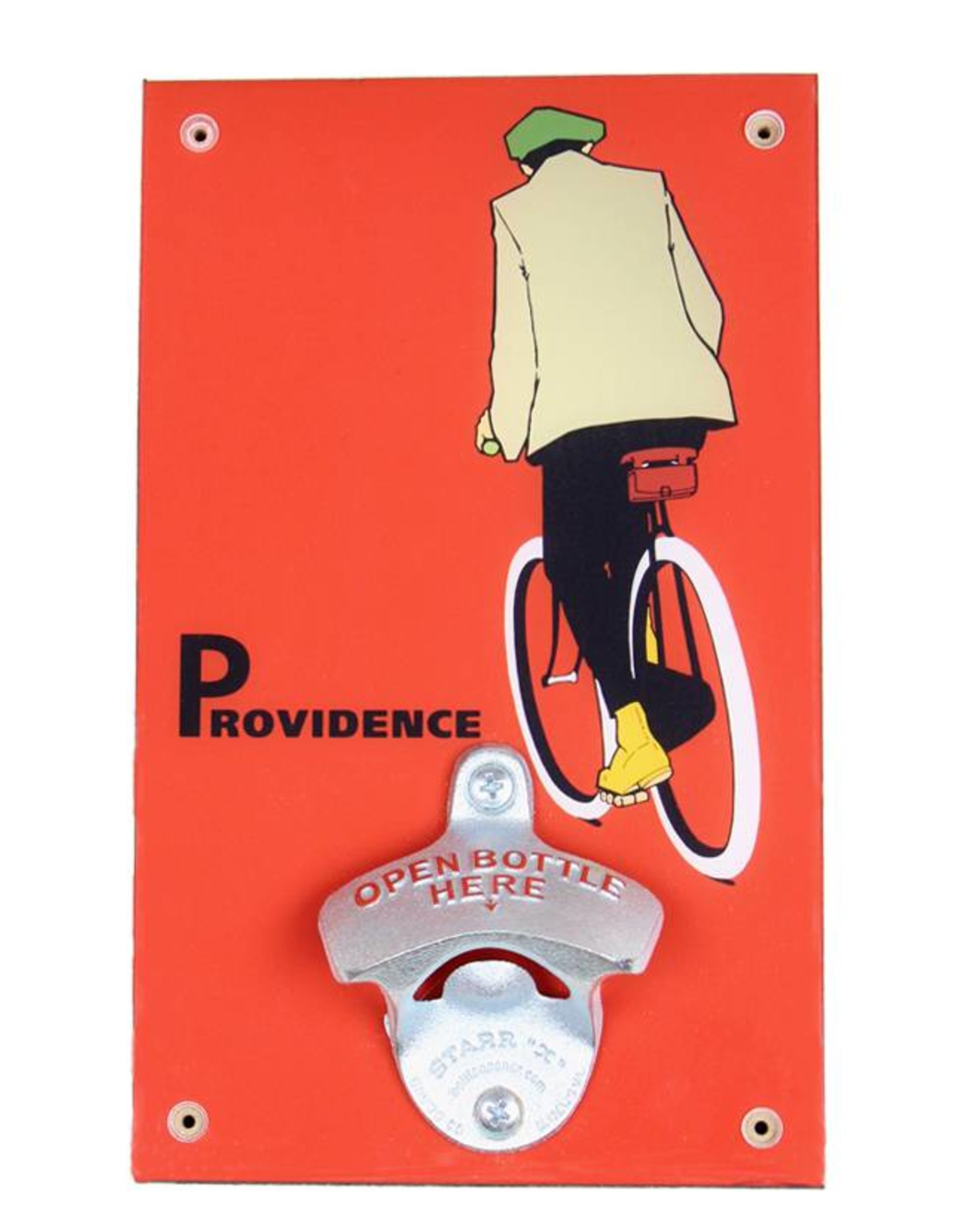 Frog & Toad Design The Providence Cyclist Bottle Opener