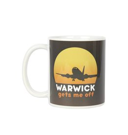 Warwick Gets Me Off Mug