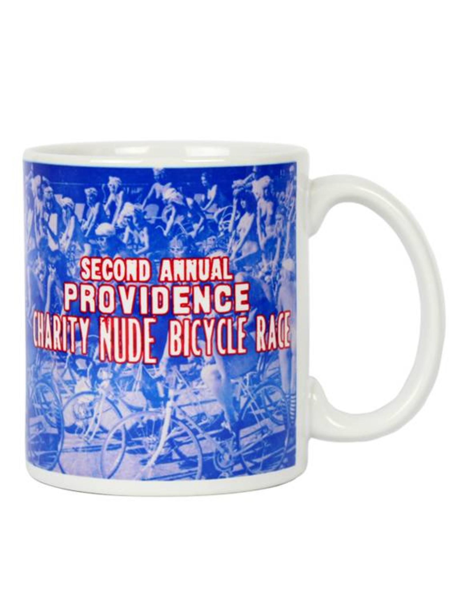 "Providence's ""Charity Nude Bicycle Race"" Mug"