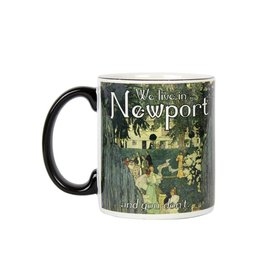 Frog & Toad Design We Live in Newport Mug