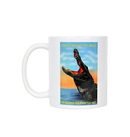 Frog & Toad Design You can go to Hell... Pawtucket Mug