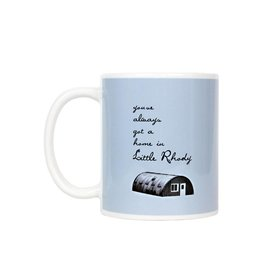 Little Rhody Quonset Hut Mug