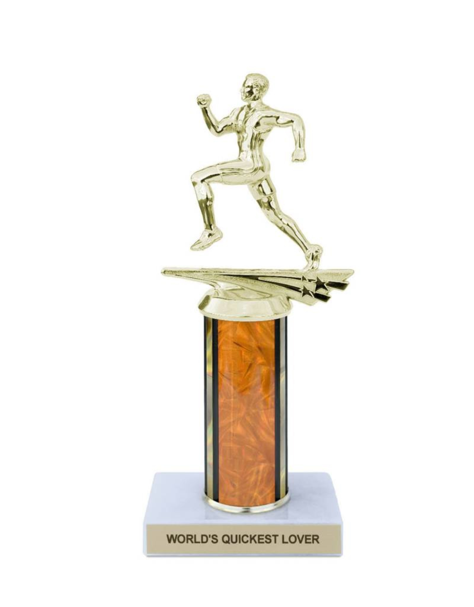World's Quickest Lover Trophy