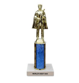 Frog & Toad Press World's Best Dad Trophy