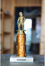 Frog & Toad Press I'm Pregnant Trophy