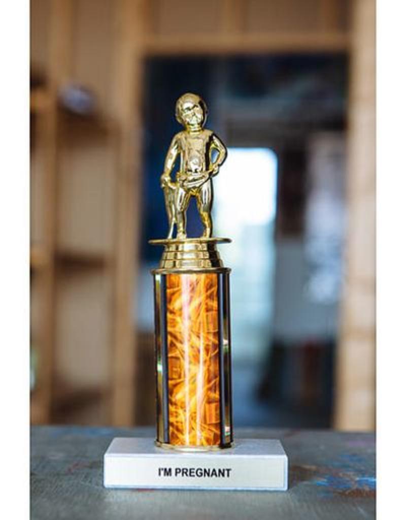 Frog & Toad Press I'm Pregnant Trophy