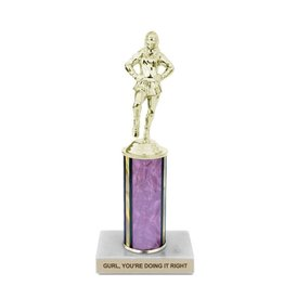 Frog & Toad Press Gurl, You're Doing It Right Trophy