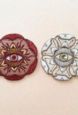 Eye Flora Patch - White