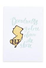 1Canoe2 Letterpress New Jersey Letterpress Print