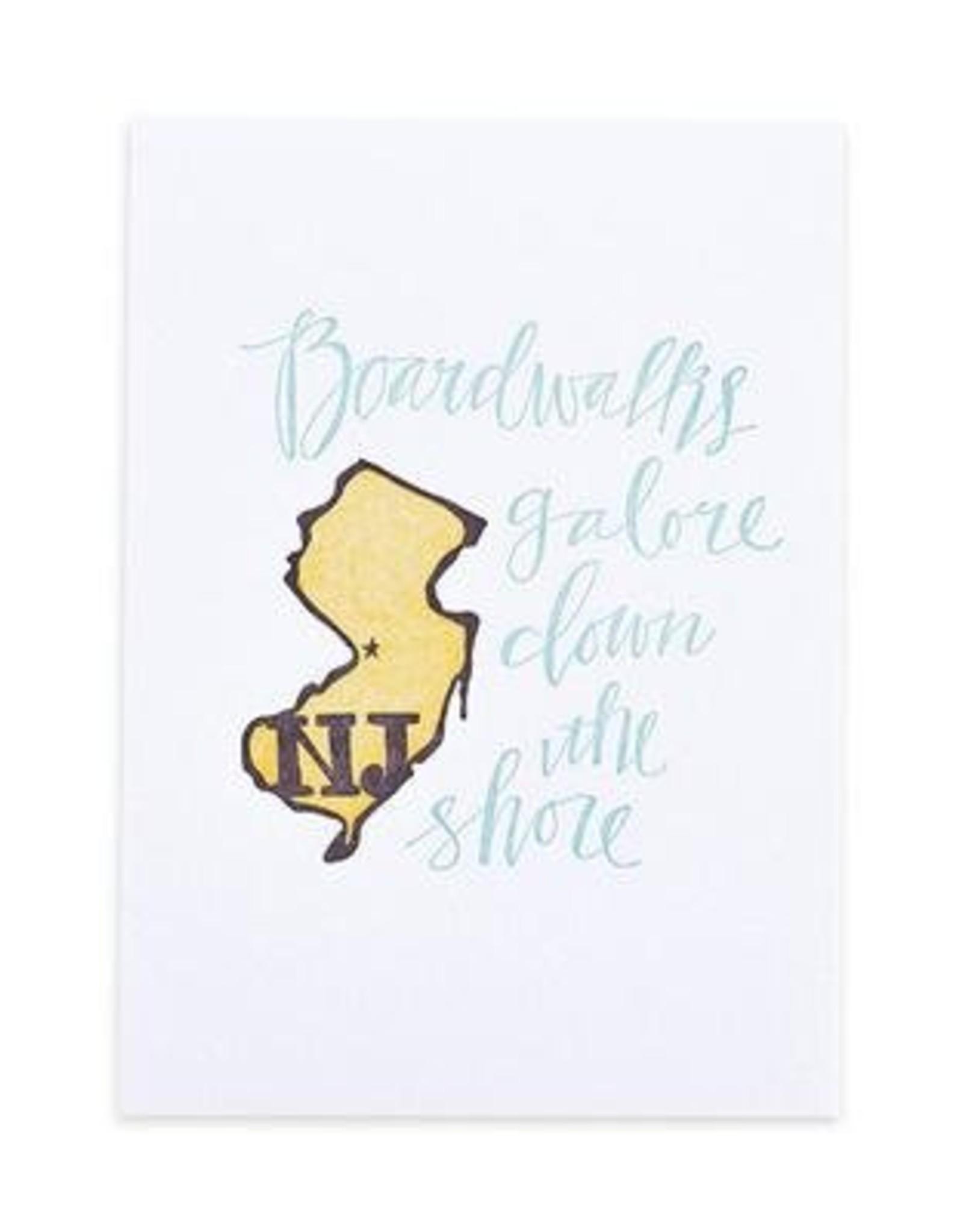 New Jersey Letterpress Print