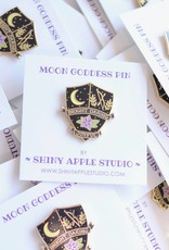 Shiny Apple Studio Moon Goddess Enamel Pin