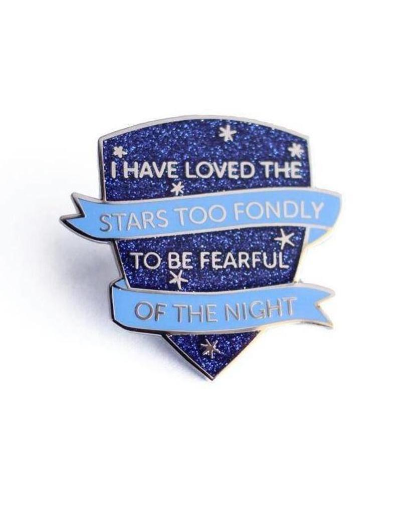 Shiny Apple Studio Astronomer's Motto Enamel Pin