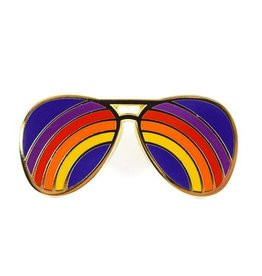 Valley Cruise Rainbow Shades Enamel Pin