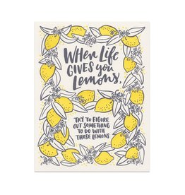 Frog & Toad Press When Life Gives You Lemons Print