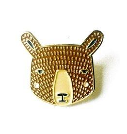 Bear Enamel Pin