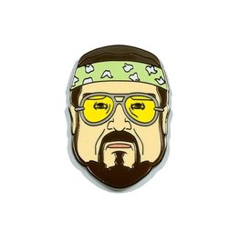 "Headline Calmer Than You Are Walter ""The Big Lebowski"" Pin"