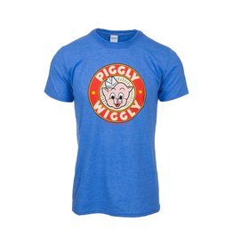 Wildwood Productions Piggly Wiggly T-Shirt Blue